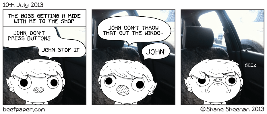 10th July 2013 – John