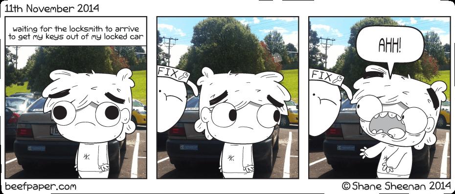 11th November 2014 – Meh car