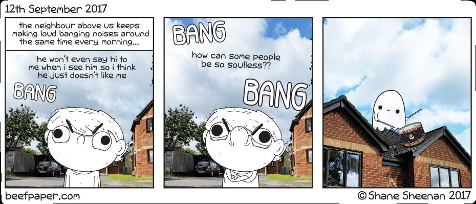 12th September 2017 – Upper neighbours