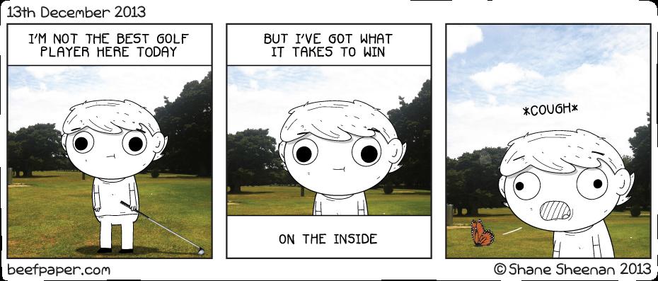 13th December 2013 – Golfing Good Time