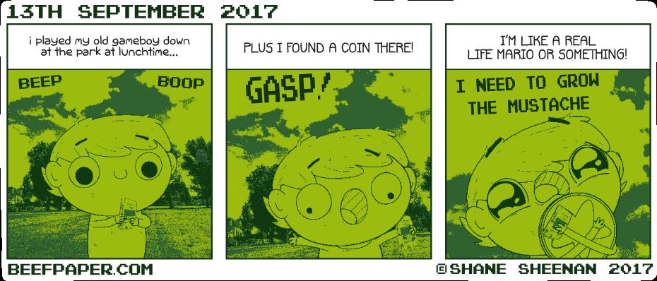 13th September 2017 – Ba-ding!