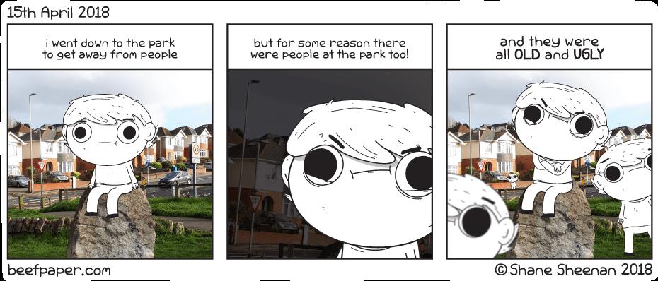 15th April 2019 – Park People