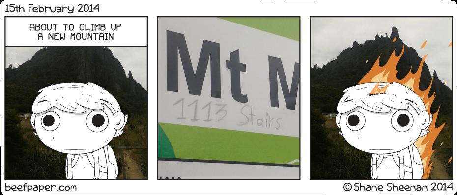 15th February 2014 – Mt Manaia