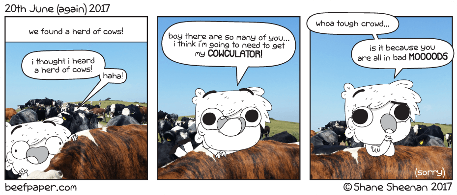 20th June 2017 – Cow Comix
