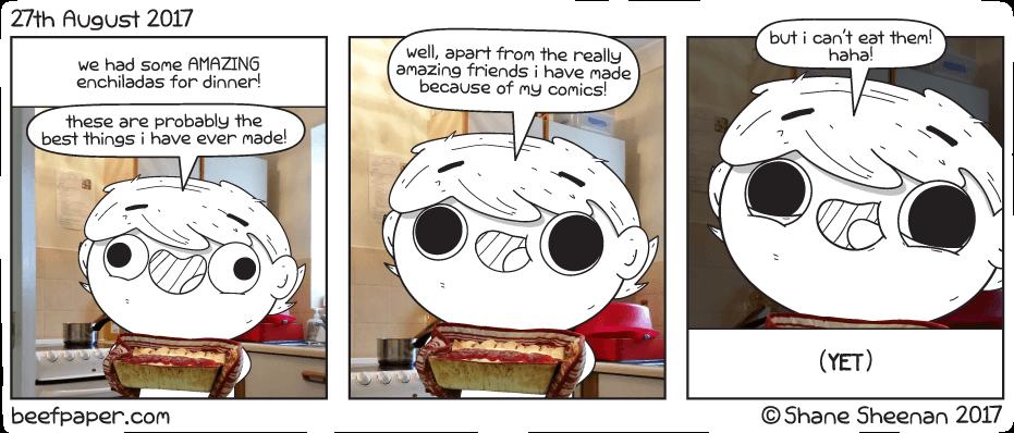 27th August 2017 – Yum Yum Dinners
