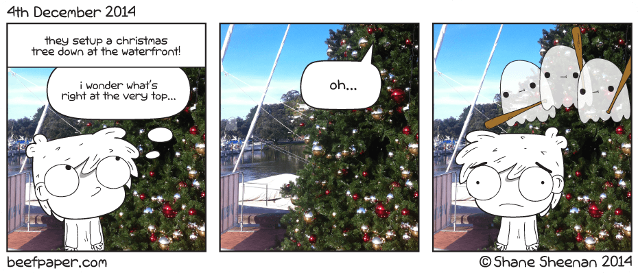 4th December 2014 – It's that Christmas Time Feeling