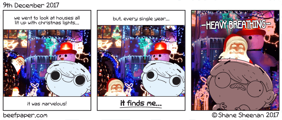 9th December 2017 – Breath with me Santa