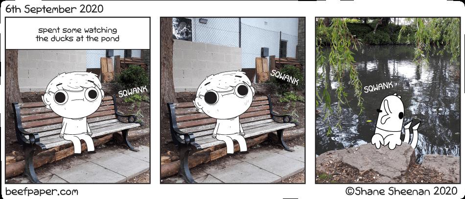 6th September 2020 – Pondering
